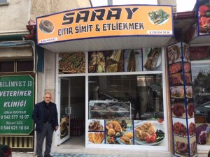 SARAY SİMİT VE ETLİEKMEK SALONU AÇILDI
