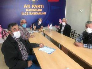 AK PARTİ'DE İSTİŞARE TOPLANTILARI DEVAM EDİYOR