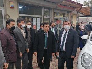 GELECEK PARTİSİ İL YÖNETİMİ'NDEN KADINHANI'NA ZİYARET