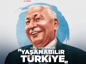 """Erbakan Haftası 2021 Anma ve Anlama Programları teması """"Yaşanabilir Türkiye"""" olarak belirlendi"""