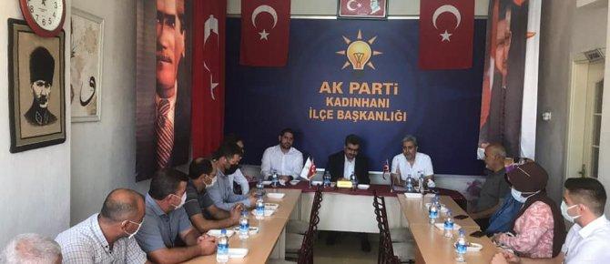 MİLLETVEKİLİ ORHAN ERDEM KADINHANI'NI ZİYARET ETTİ