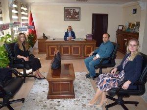 İlçe Hâkimleri ve Cumhuriyet Başsavcısı'ndan Işık'a ziyaret
