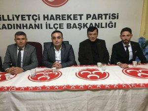 MHP'DE PARTİYE KATILIM PROGRAMI DÜZENLENDİ