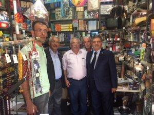 MİLLETVEKİLİ 'YOKUŞ' KADINHANI'NI ZİYARET ETTİ