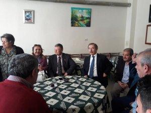 ABDÜLLATİF ŞENER KADINHANI'NI ZİYARET ETTİ