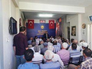 MİLLETVEKİLİ ERDEM KADINHANI'NI ZİYARET ETTİ