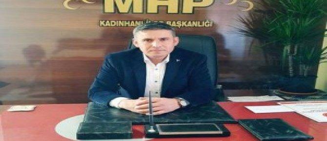 MHP İLÇE BAŞKANI'NDAN 'GAZETECİLER GÜNÜ' KUTLAMASI