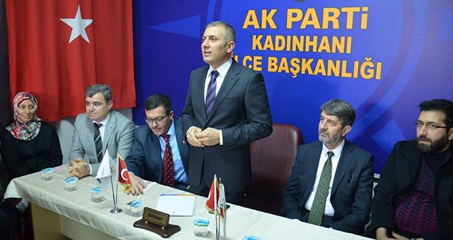 AK PARTİ İL BAŞKANI ARAT'TAN KADINHANI'NA ZİYARET